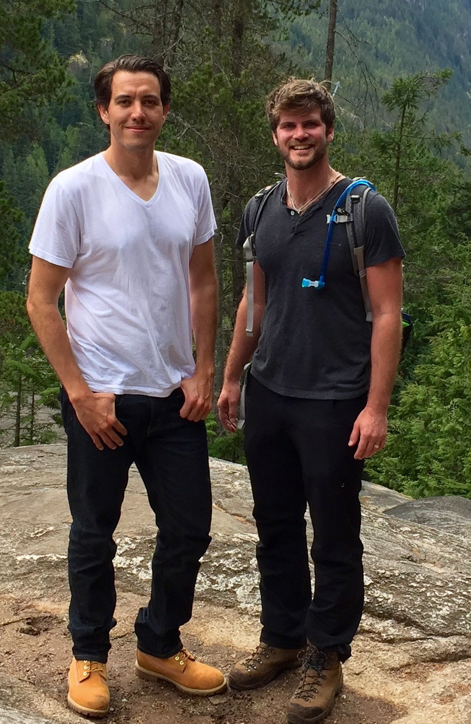 ryan and zach in the canadian mountains